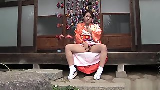 Amazing Japanese chick in Fabulous Outdoor, Dildos/Toys JAV video