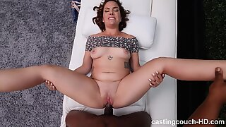 Chubby PAWG gets DEEP BBC CreampieReport this video
