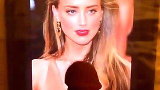Amber Heard Cum Tribute!