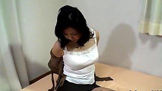 Japanese Mature Casting Voyeur 45