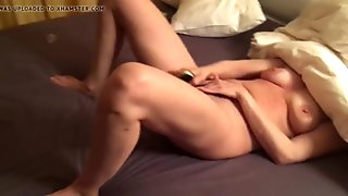 Orgasm of a shy lady