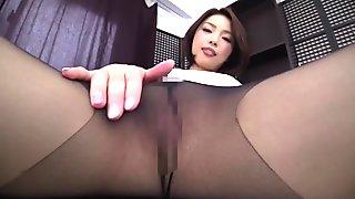 Best Japanese slut in Crazy Masturbation, Solo Female JAV movie