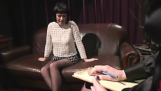 Olive Glass Auditions For Whipped Ass