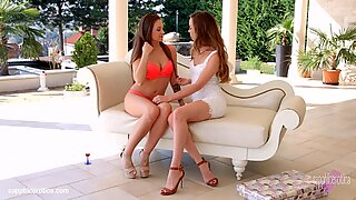Check My Dress By Sapphic Erotica - Lesbian Love Porn With Capri Anderson - Angelina Brill