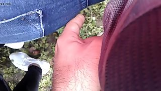 Encoxada Milf  culona en jeans mezclilla (DEDEADA) parte 1