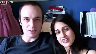 Indiai lány zarina mashood makes a hot orál sex video with her boybarát