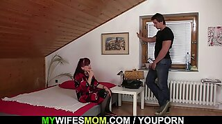 Wife finds her mom and BF together