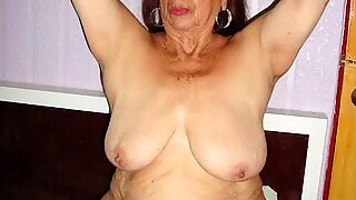 LatinaGrannY Video With Pictures Compilation